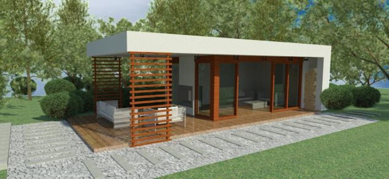 Energy-efficient element houses and modular houses A home